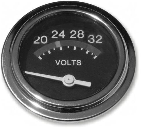 24 VOLT DC VOLTMETER - 20-32 VOLTS (4X4 VEHICLES)