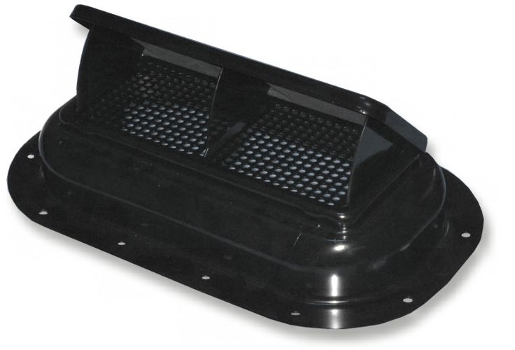 RAM AIR HOOD VENT - STEEL (BLACK FINISH) (4X4 OFF-ROAD VEHICLES)