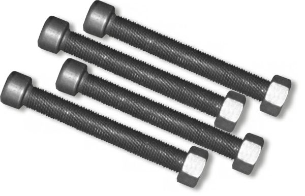 Axle LEAF SPRING CENTER BOLTS (3/8 inch) - SET OF FOUR (4) (4X4 OFF-ROAD VEHICLES)