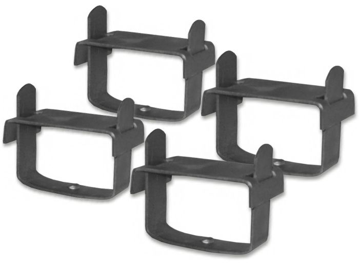 2-1/2 inch Axle LEAF SPRING CLAMPS - SET OF FOUR (4) (4X4 OFF-ROAD VEHICLES)