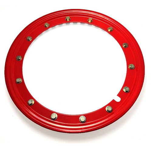 Simulated Beadlock Ring 15 inch - RED (single)
