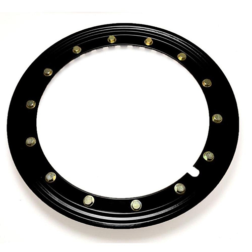 Simulated Beadlock Ring 16 inch - BLACK (single)
