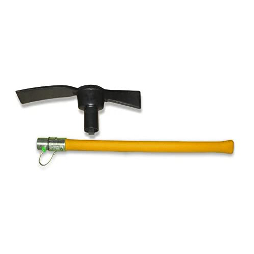 Camper's Mag-Lok LONG-HANDLE Mattock