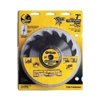 Oldham 7005012 Adjustable Dado Blade, 7 in Dia, 16 Teeth, 5/8 in Arbor
