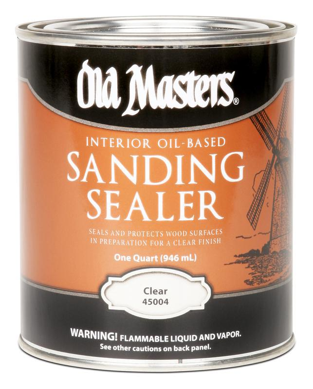Quart Poly Plastic Sanding Sealer
