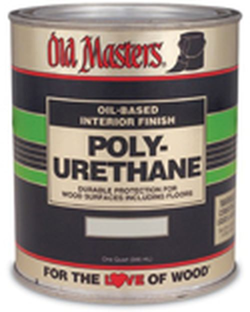 49501 1 GALLON SEMI-GLOSS POLYURETHANE PLASTIC