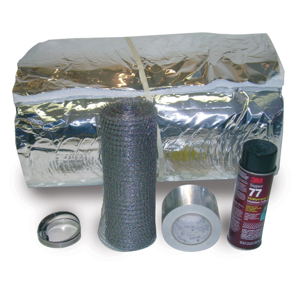 "INK-525 - 5"" X 25' Super Wrap Insulation Kits"