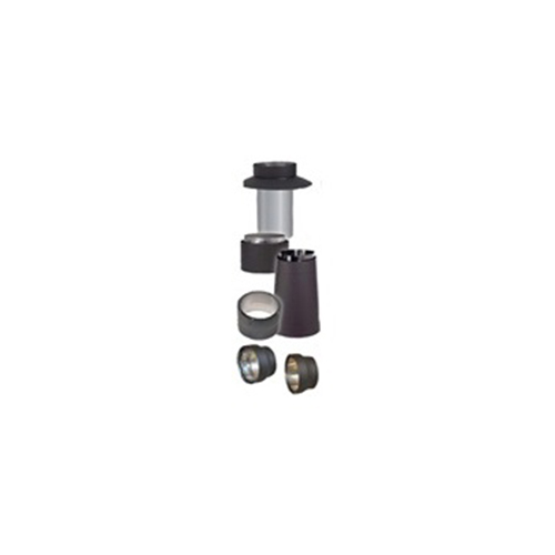 (1 Pack Of 3) - Ventis Double-Wall Black Stove Pipe Screw Pack - VDB-LGSCREWS