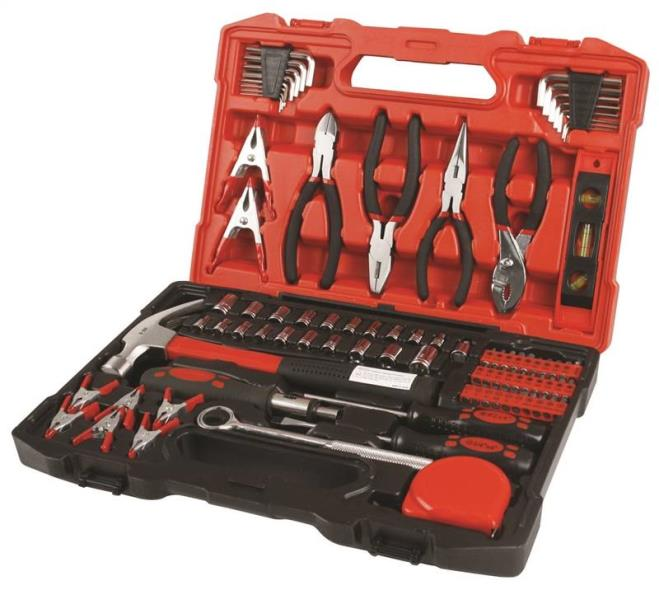 TOOL SET 90 PIECE W/CASE