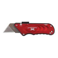 TurboknifeX 33-132 Utility Knife, Red Ergonomic