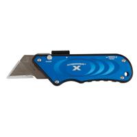 TurboknifeX 33-134 Utility Knife, Blue Ergonomic