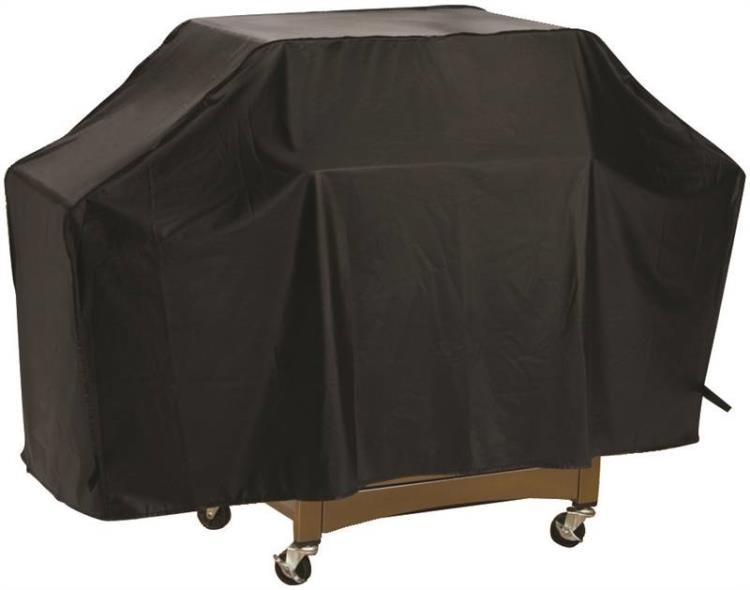 ToolBasix SPC03-123L Grill Cover, For Use With Cart Style Grills, Vinyl, Black
