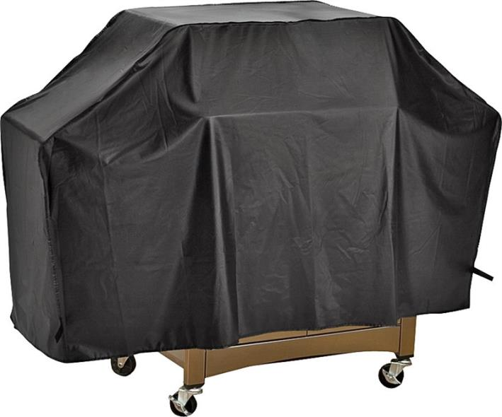 ToolBasix SPC04-123L Grill Cover, For Use With Cart Style Grills, Vinyl, Black