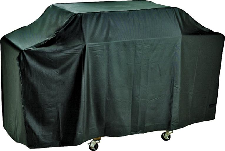 ToolBasix SPC01-123L Grill Cover, For Use With Cart Style Grills, Vinyl, Black