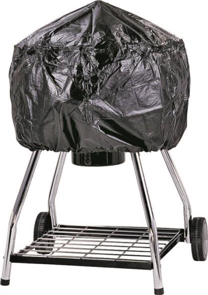ToolBasix SPC053L Grill Cover, For Use With Kettle, Vinyl, Black