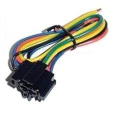 RELAY SOCKET UNIVERSAL OMEGA PRE-WIRED; 5 WIRES