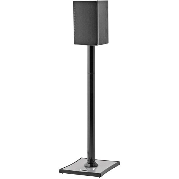 Omnimount Gemini 2 B Gemini Audiophile Bookshelf Speaker Stands, 2 Pack