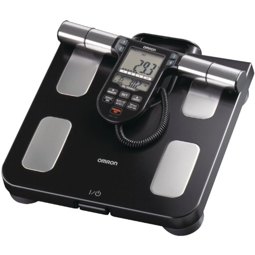 Omron HBF-516B Full-Body Sensor Body Composition Monitor & Scale with 7 Fitness Indicators (180-Day Memory)