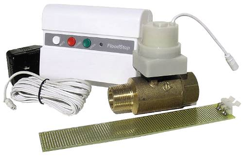 POINT OF USE WATER SAFETY SHUT-OFF VALVE FOR WATER HEATERS