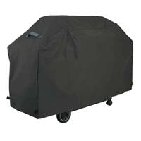 GrillPro 50568 Deluxe Grill Cover, 68 in Length X 21 in Width X 40 in Height, Black