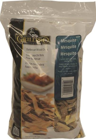 GrillPro 00200 Mesquite Wood Chip, 2 lb Bag