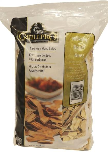 GrillPro 00220 Hickory Wood Chip, 2 lb Bag