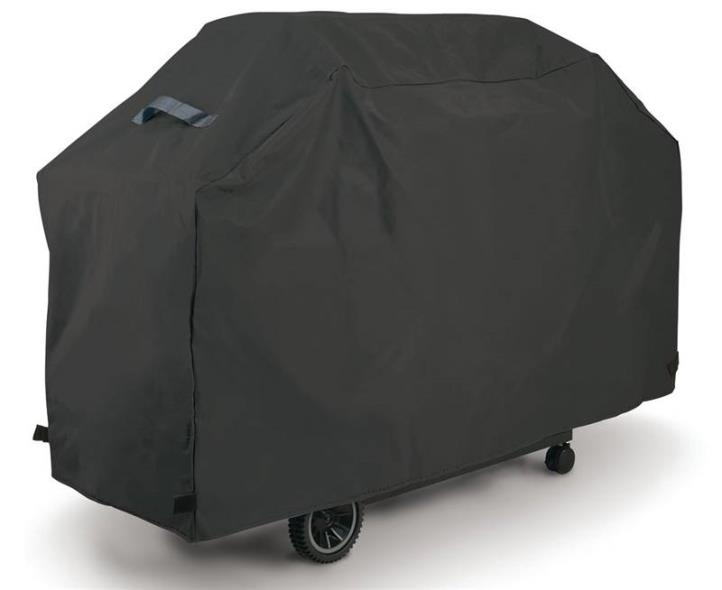 GrillPro 50057 Economy Heavy Duty Grill Cover, 56 in Length X 21 in Width X 40 in Height, Black