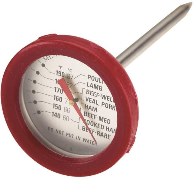 THERMOMETER MEAT S STEL GR PRO