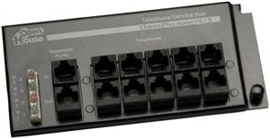 OpenHouse H619 4 x 12 RJ45 Telephone Interface Hub