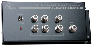 OpenHouse H816BID 1 x 6 Amplified TV Splitter