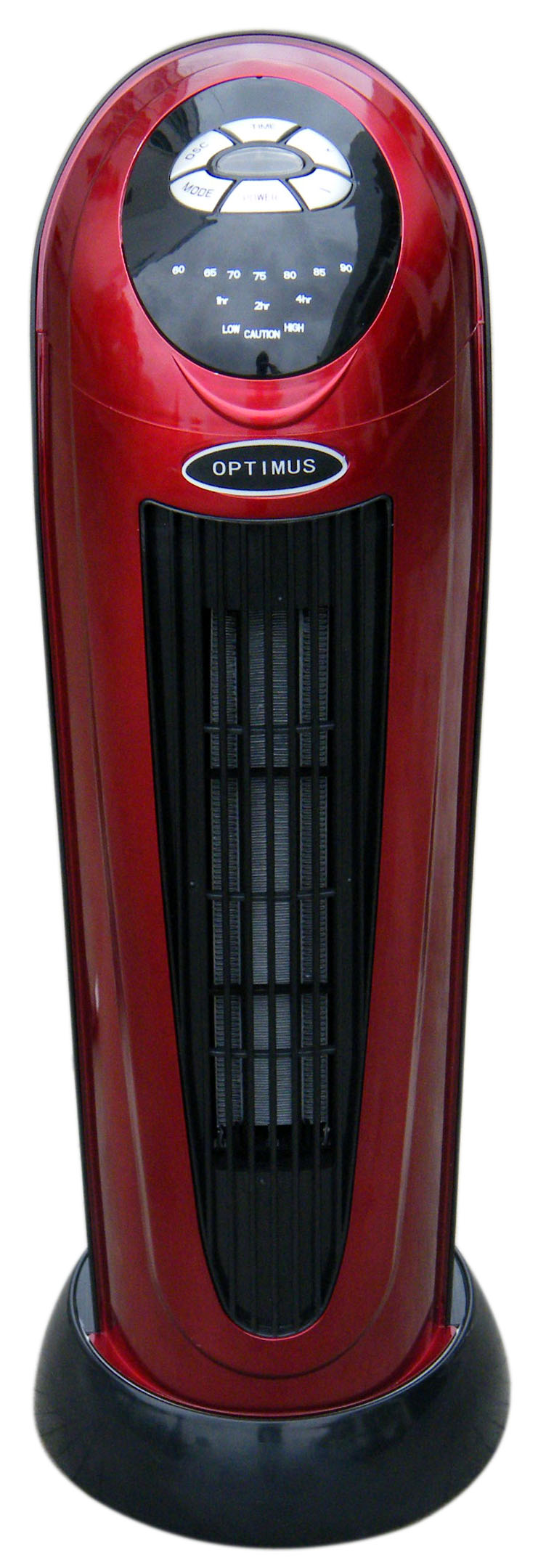 "Optimus 22"" Oscillating Tower Heater with Digital Temp Readout & Setting, Remote"