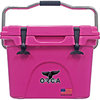 ORCA ORCP020 Roto-Molded Cooler, 20 qt, Up To 10 Days Ice Retention Time, Premium Insulation, 19 in L x 13-3/4 in W