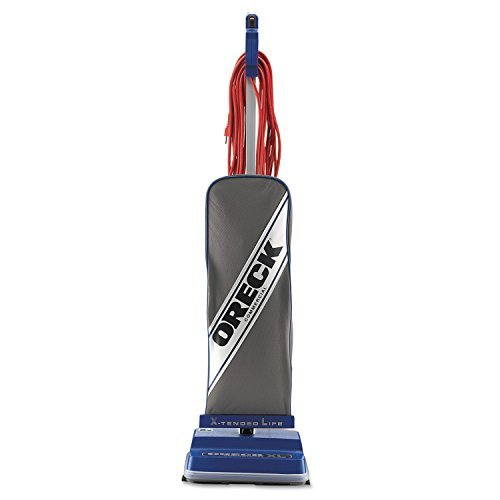 XL Commercial Upright Vacuum,120 V, Gray/Blue, 12 1/2 x 9 1/4 x 47 3/4