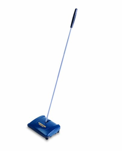 ORECK� COMMERCIAL WET/DRY SWEEPER WITH STURDY HANG STYLE HANDLE GRIP, 9.5 IN. HEAD WIDTH