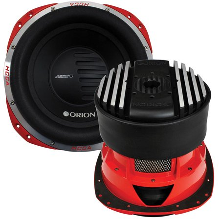 "Orion HCCA 10"" Woofer Dual 2 Ohm Voice Coil 2000W RMS"