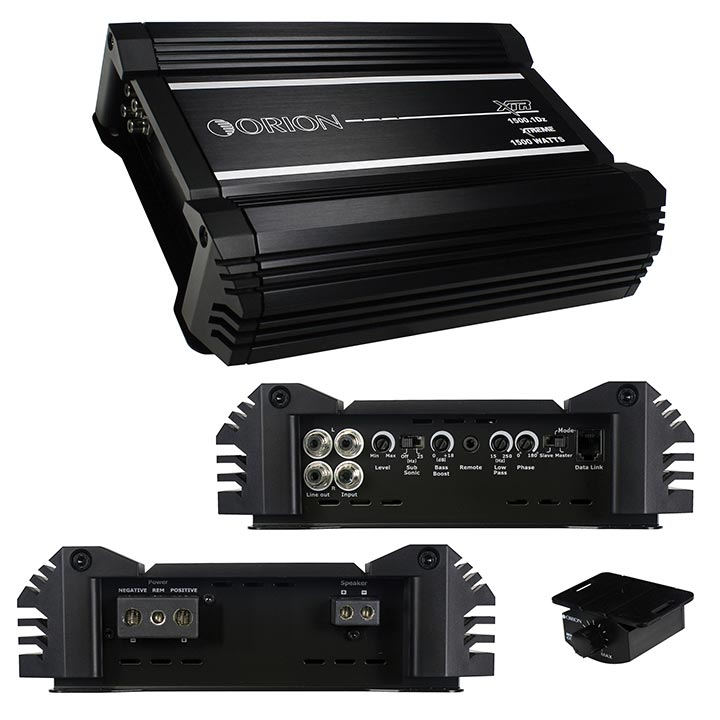 Orion XTR D Class Amplifier 1500 Watts RMS 1 Ohm