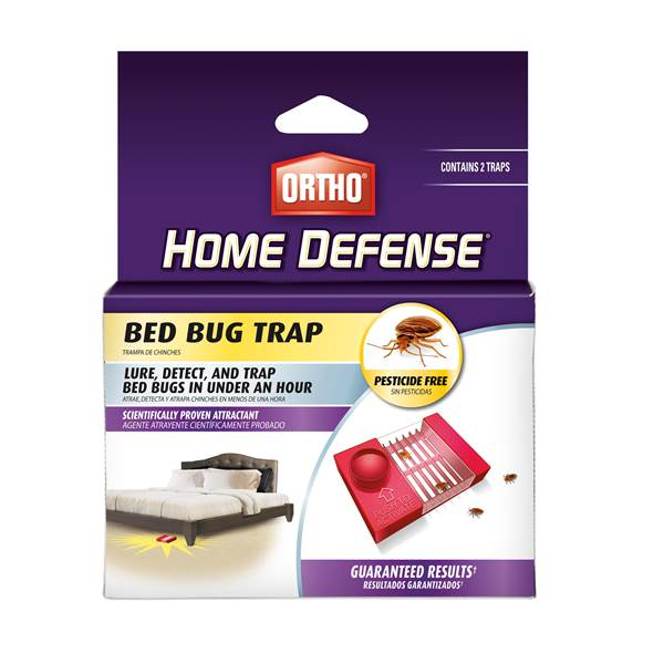 TRAP BED BUG PESTICDE FREE 2PK