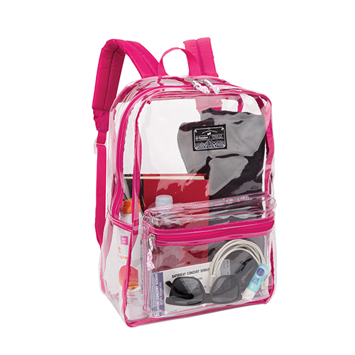 Outdoor Products Clear Pass Day Pack, Pink