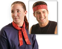 OccuNomix One Size Fits All Assorted Colors MiraCool+ Bandana