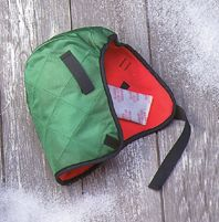 OccuNomix Hot Rods+ 100% Quilted Nylon Shell Green Winter Liner With Foam Middle And Red Fleece Lining