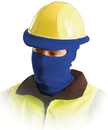 OccuNomix Navy Blue 100% Polyester Hot Rods� Classic Full Face Balaclava Style Tube Liner