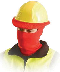 OccuNomix Red 100% Polyester Hot Rods� Classic Full Face Balaclava Style Tube Liner