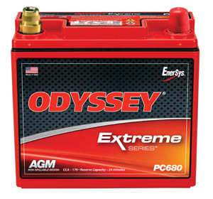 POWERSPORTS/MOTORCYLE BATTERY