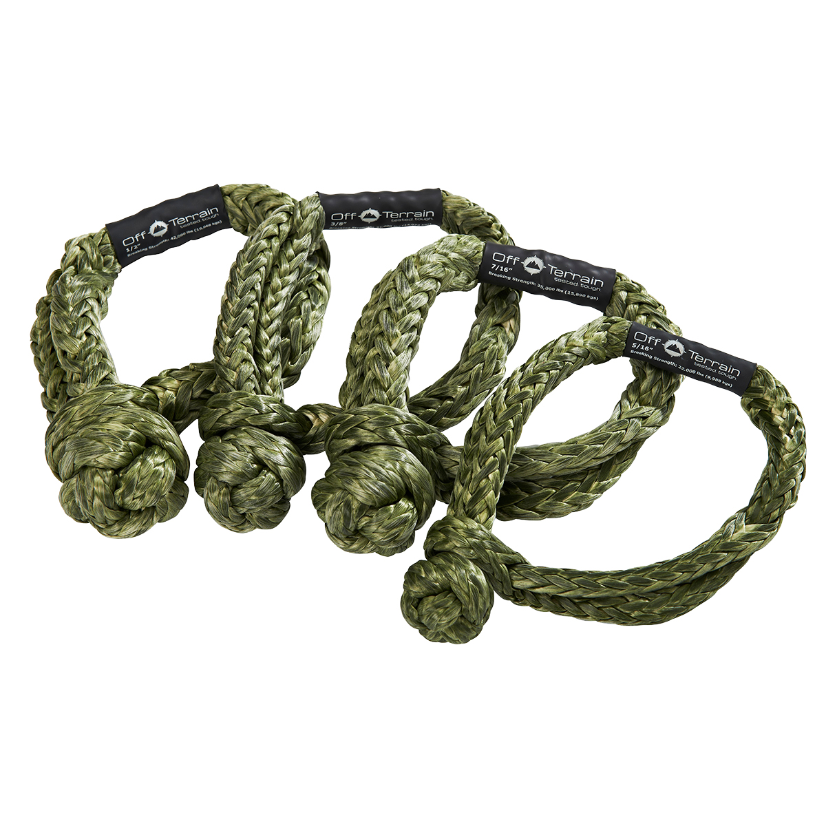 .50in SYNTHETIC SOFT SHACKLE UHWMPE