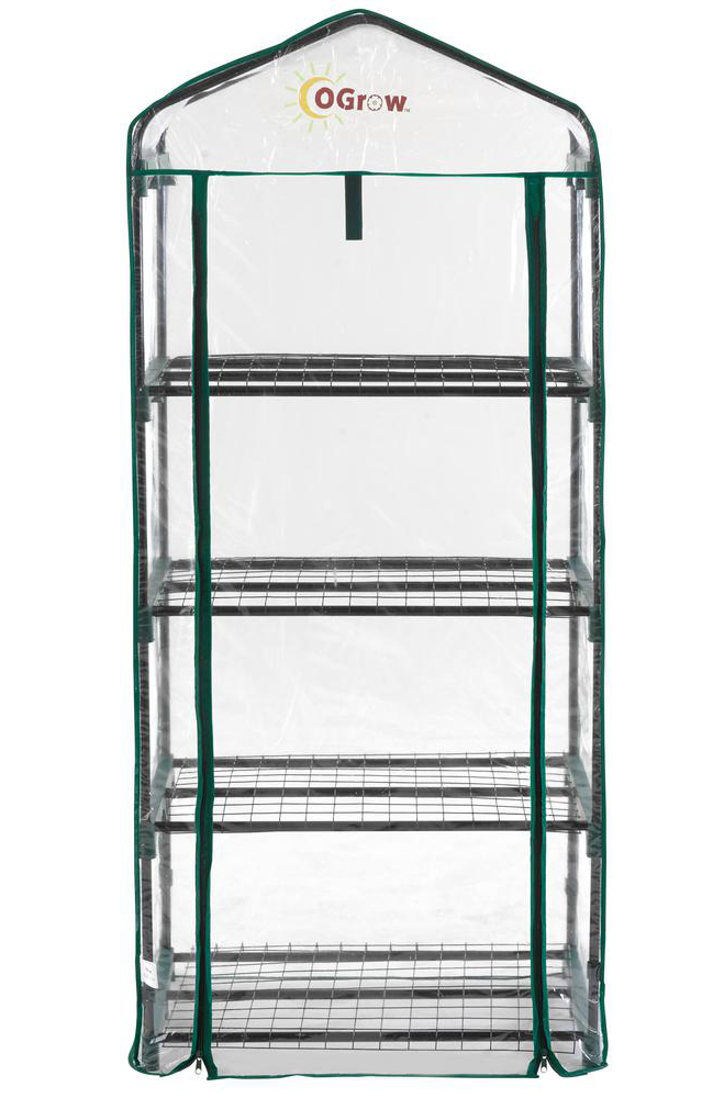 Ogrow Ultra-Deluxe 4 TIER PORTABLE BLOOMHOUSE
