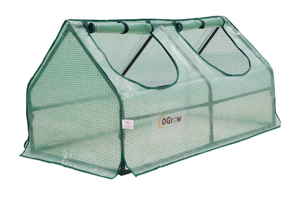 Compact Outdoor Seed Starter Greenhouse Cloche With PE Protection Cover
