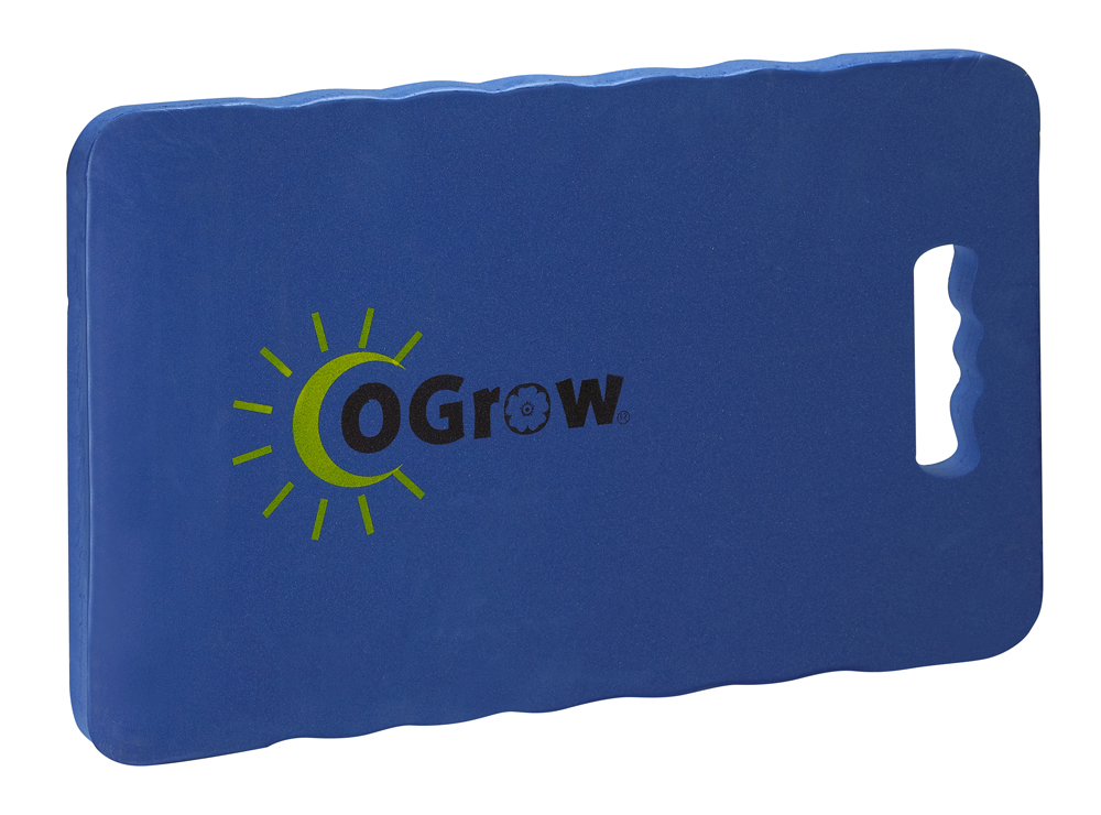 "oGrow® 1"" Thick Garden Kneeling Pad - Measures 14"" X 8"" - Blue"
