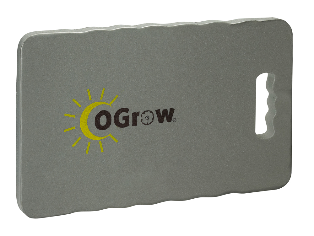 "oGrow® 1"" Thick Garden Kneeling Pad Measures - 14"" X 8"" - Grey"