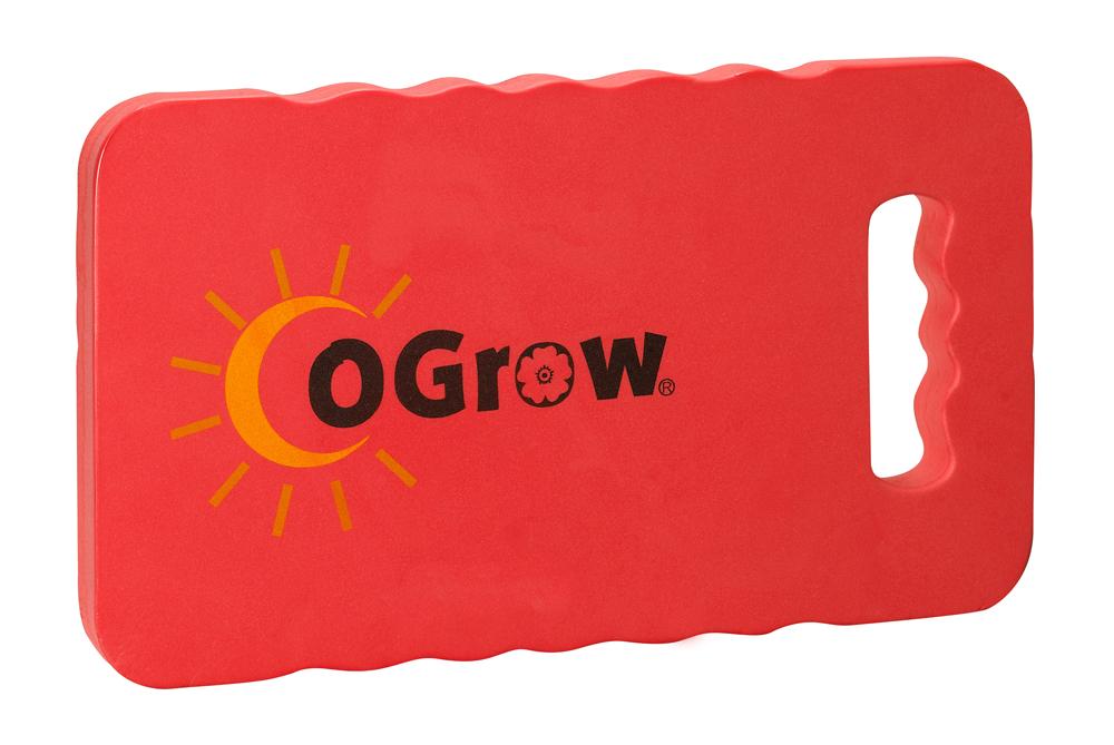 "oGrow® 1"" Thick Garden Kneeling Pad Measures - 14"" X 8"" - Raspberry"