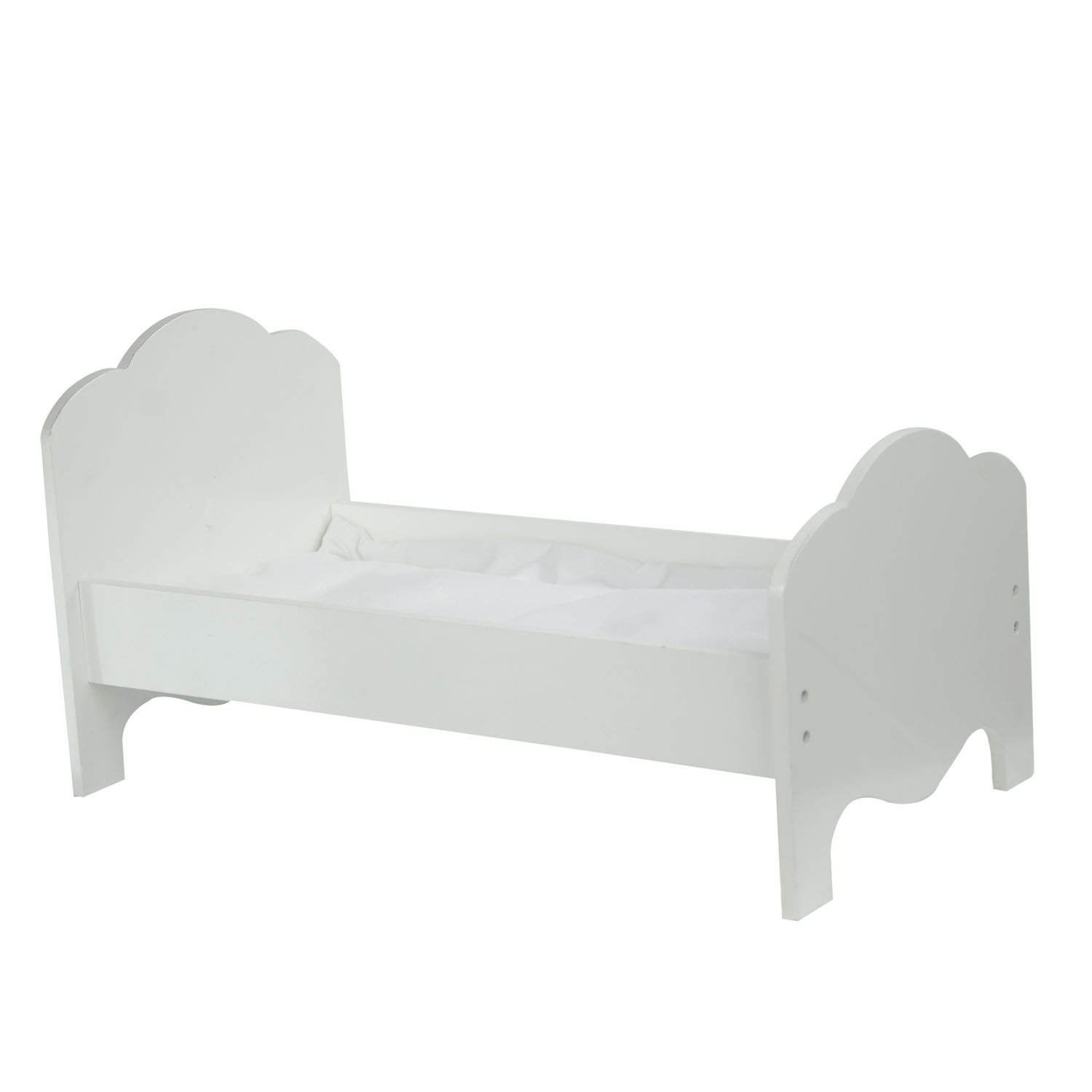 "Olivia's Little World - Little Princess 18"" Doll Furniture - Classic Single Bed"